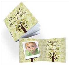 Mini Biblia para Lembrança Medida: 6 x 5 cm (fechado) Papel: capa em couche 150g, miolo alta alvura 90g Acabamento: 2 grampos Páginas: 28 páginas