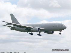 Italian Airforce KC-767A arriving RAF Waddington