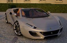 Menacing Ferrari FT12 Concept