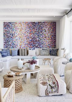 The hot list: 13 interior trends that will define 2019 African Interior, Form Design, Contemporary Interior Design, Large Wall Art, Soft Furnishings, Table And Chairs, Living Spaces, Interior Decorating, Room