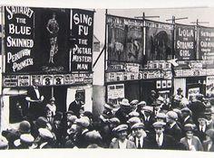 1933-Barnstaple Fair sideshow