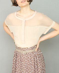 cute belted skirt