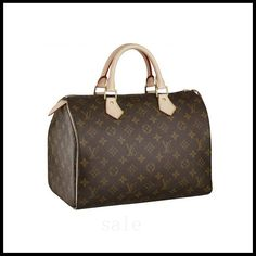 Louis Vuitton Speedy 30 Brown Top Handles M41526 With High Quality And Fast Delicery Is Hot Sale Now!