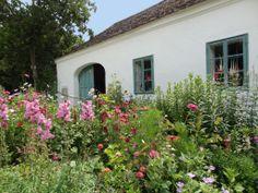 Blumige Vorgärten im Museumsdorf Niedersulz Museum, Plants, Red, Nail Art, Destinations, Traveling, Haus, Culture, Art