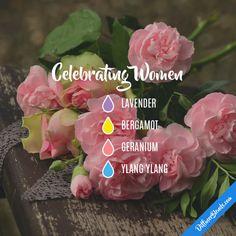 Celebrating Women - Essential Oil Diffuser Blend