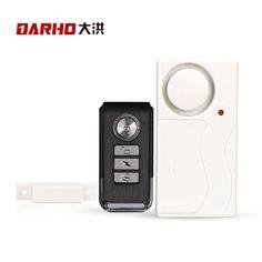 Darho puerta abs control remoto inalámbrico sensor de puerta ventana de entrada de seguridad antirrobo de acogida de alarma hogar sistema de alarma de seguridad