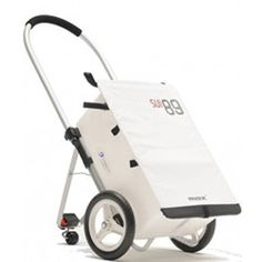 Leggero Trolley Max aluminum white top model Mod 1101 Swissborn Stromer trolley and trailer carrier products I love link site Baby Trolley, Trolley Bags, Emergency Backpack, Folding Trolley, Beach Cart, Bicycle Basket, Bike Trailer, Cat Bag, Mobiles