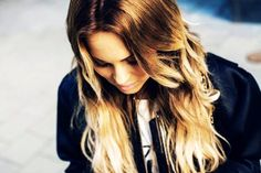 Women's Ombre Hair Extensions Brown To Blonde - Curly Ombre Hair Extensions Brown To Blonde
