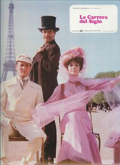 Natalie Wood, Tony Curtis, and Jack Lemmon in The Great Race Vintage Hollywood, Classic Hollywood, Hollywood Actresses, Actors & Actresses, Jack Lemmon, The Great Race, Tony Curtis, Belle, Movies