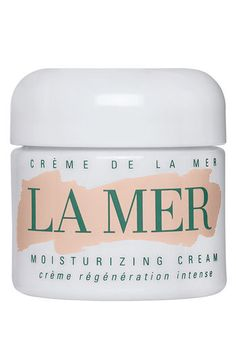 Creme de la Mer Moisturizing Cream...I don't care about the price! Jlo and Madonna use this! NUFF SAID!