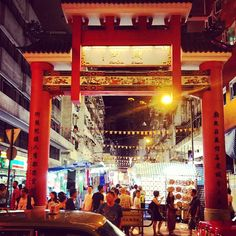 Temple Street night market. Night market with everything you can imagine. Plus fortune tellers!