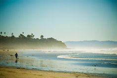 Title:  Walk The Beach   Artist:  Cindy Tiefenbrunn   Medium:  Photograph - Digital