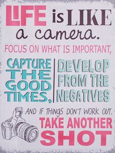"""Irfan Ahmad - Google+ - """"Life is like a camera focus on what's important capture…"""