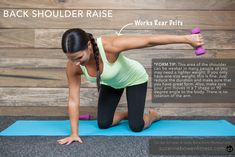 This quick upper body barre inspired arm workout can be done at the gym at home or even at the office on your lunch break. Be sure to warm up prior to starti This quick upper body barre inspired arm workout can be do Barre Arm Workout, Pilates Barre, Barre Workouts, Body Workouts, Barre Body, Ballet Barre, Exercise Moves, Arm Exercises, Stretches
