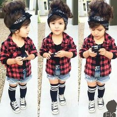 Hipster baby girls, toddler girl style e kids fashion. Outfits Niños, Cute Baby Girl Outfits, Cute Outfits For Kids, Toddler Girl Outfits, Cute Baby Clothes, Hipster Girl Outfits, Fashion Outfits, Cute Kids Fashion, Little Girl Fashion