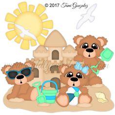 Sandcastle Bears