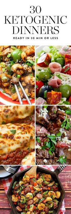 The ketogenic diet is a high-fat, moderate-protein, low-carb eating plan that could help you lose weight. Try one of these 30-minute ketogenic dinners that are easy and delicious. #ketogenicdiet #ketogenic #keto #ketogenicdinners #healthyrecipes #ketorecipes #ketogenicrecipes #dinnerrecipes