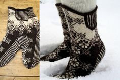 knitted socks Unfortunately, I can not find information like pattern, instruction, yarn, .... If someone can help me ?