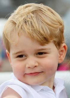 Prince George of Cambridge at the Royal International Air Tattoo in Gloucestershire. July 8 2016