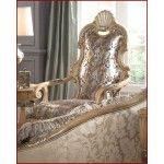 $2899.00  AICO Furniture - Grande Aristocrat High Back Leather Chair - AI-55934-CHOCO-06