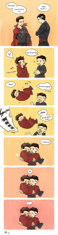 There is some amazing relationship with Doctor Strange and his cloak. Let's enjoy some of the funniest Doctor Strange and The Cloak of Levitation memes. Marvel 3, Marvel Fan Art, Avengers Memes, Marvel Memes, Doctor Strange, Tony Stark, Cloak Of Levitation, Deadpool, Spideypool