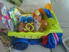 Babys 1st easter basket change a few items and this makes a 1year old boy easter basket negle