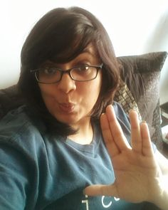 Spock hand selfie  for @ankita0112 #spock #spockhand #selfies #selfie #Indian #blogger #haircut
