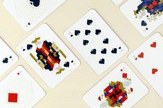 Papier Tigre, Le jeu de cartes Mouton Cadet, Playing Cards Art, Diy Furniture Hacks, Joker, Letterpress, Illustrations Posters, Card Games, Contemporary Art, Stationery