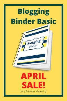 Blogging Binder Basic is on SALE! For just $9  #bloggingbinder #bloggingplanner #planner #plan #schedule #bloggingschedule #freeprintable #daily #weekly #download Blog Planner, Digital Nomad, Just Me, Easy Drawings, Binder, Drawing Ideas, Schedule, Free Printables, Blogging