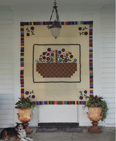 """Last step for the Mystery Quilt: Once again here is an opportunity to make """"your own version"""" of this Mystery Quilt. If you chose to add the piano key border you can make that border your final edge of the quilt and simply add your binding strip directly to the piano key edges. Or…decide what..."""