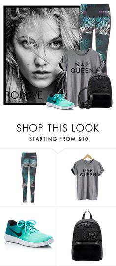 """""""Sin título #2175"""" by miushka ❤ liked on Polyvore featuring Onzie, NIKE and MISCHA"""