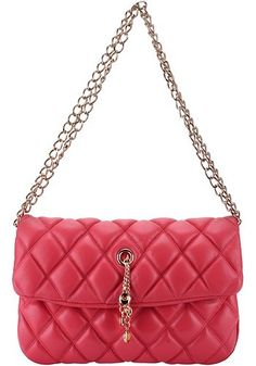 The Ultra It Flap Chain Bag Leather Red http://paradiseinternetmall.net/