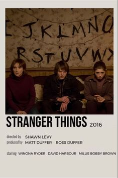 Serie Stranger Things, Stranger Things Season, Stranger Things Netflix, Iconic Movie Posters, Iconic Movies, New Poster, Poster Series, American Horror Story Characters, Poster Minimalista