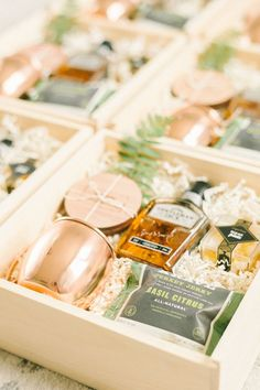GROOMSMEN GIFTS  Marigold & Grey creates artisan gifts for all occasions. Wedding welcome gifts. Workshop swag. Client gifts. Corporate event gifts. Bridesmaid gifts. Groomsmen Gifts. Holiday Gifts. Order online or inquire about custom gift design. www.marigoldgrey.com Image: Elizabeth Fogarty