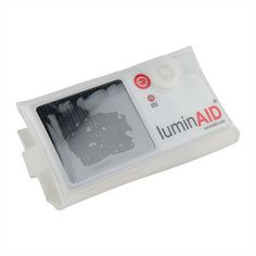 The LuminAID light is a solar-rechargeable, inflatable lamp that packs flat and… Tornado Preparedness, Disaster Preparedness, Home Emergency Kit, Tornado Season, Gunsmithing Tools, Reloading Supplies, Family Communication, Solar Powered Lights, First Aid Kit