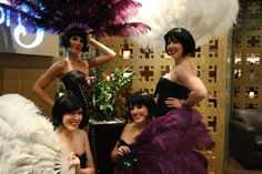 BURLESQUE DANCERS- BASTILLE DAY 2012
