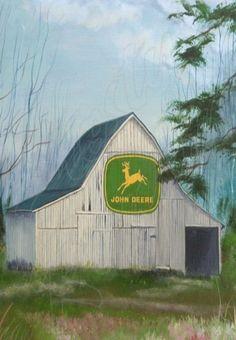 John Deere Barn