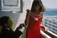 Anna Karina and Jimmy Karoubi in Pierrot le fou Anna Karina, Style Chic Parisien, French New Wave, Style Parisienne, Parisian Chic Style, Jean Luc Godard, Madame, Vintage Fashion, 1960s Fashion