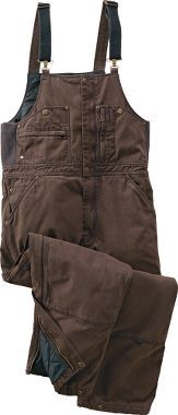 Cabela's Roughneck Insulated Washed Canvas Bibs