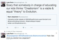 He blinded him with science-or at least tried #ableg #abed