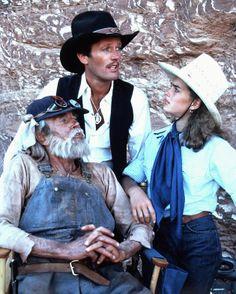 Henry Fonda, Peter Fonda & Brooke Shields in United Artists's 'Wanda Nevada'.