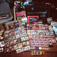 On instagram by seejayare #retrogaming #microhobbit (o) http://ift.tt/1Jqstc0 months till garage sale season... #videogames #gaming #gamingsetup #nintendo #playstation #xbox #xboxone #sega #ps4 #gamecube #gameboy #atari #supernintendo #n64 #nes #segagenesis #garagesale #garagesalepickups #pickups  #retrocollective #retro