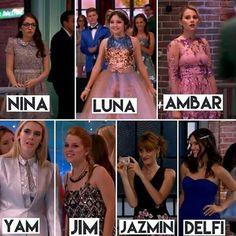 Nina Luna, Ambre Smith, Sou Luna Disney, Disney Channel Stars, Image Fun, Instagram Story, Instagram Posts, Cute Cartoon Wallpapers, Girl Meets World