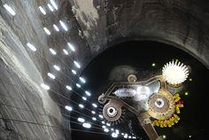 Salt mining - Turda Turda - Roumanie