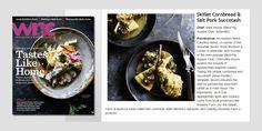 Skillet Cornbread & Salt Pork Succotash by Chef Mike Moore {Blind Pig Supper Club, Asheville} • Appalachian Culinary Revival