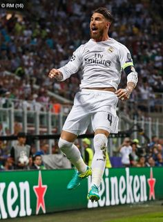 Sergio Ramos - Champions League final - Real Madrid