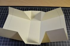 """I made this mini bag with 11""""x 8.5"""" card stock. No cutting only folding Of course you need to cut when you decorate ...     Mini bag tutori..."""