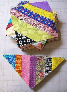 Fabric leftovers pile up, no matter your good intentions. Creating quilts from your scraps is always a great way to cut down on the piles (...