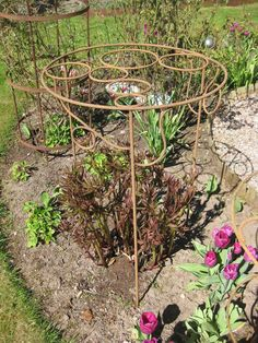 Container Gardening, Gardening Tips, Garden Art, Garden Tools, Obelisk, Bloom Where You Are Planted, Plant Supports, Ornamental Plants, Diy Garden Projects