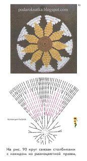 Low and High Smocking Frock (Rose Design Crochet Flower Patterns, Doily Patterns, Crochet Motif, Crochet Designs, Crochet Doilies, Crochet Flowers, Crochet Potholders, Crochet Cushions, Crochet Pillow